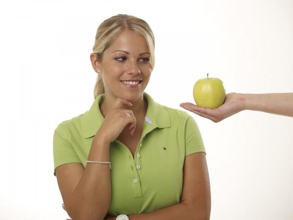 Von wegen verbotene Frucht: Der Apfel ist eine echte Vitamin-Bombe.
