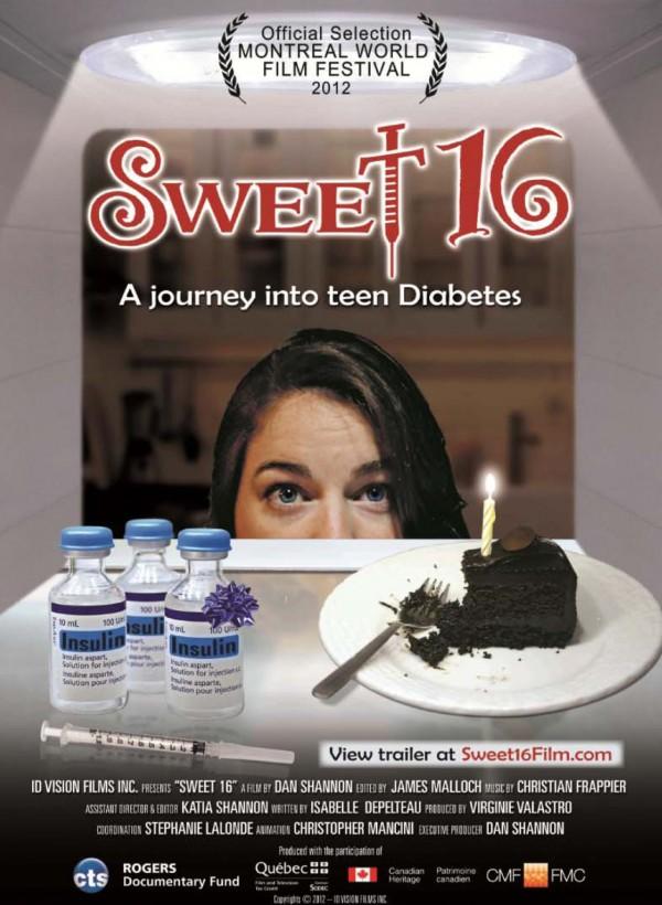 """Wie gehen Jugendliche mit ihrer Stoffwechselerkrankung um? """"Sweet 16 - A journey into teen Diabetes"""" liefert Antworten. Quelle: http://sweet16film.com"""
