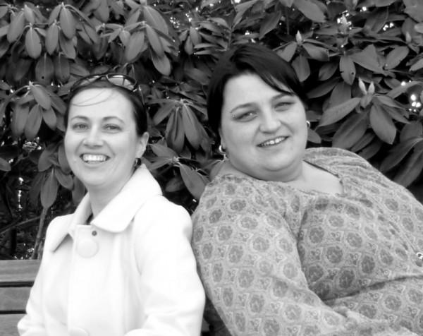"""Kathy und Mandy (v.ln.r.) berichten auf ihrem Blog """"Kinder-mit-Typ-1Diabetes"""" regelmäßgi von ihren Alltagserfahrungen."""