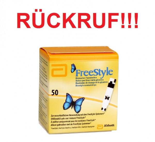 Freestyle-Rückruf