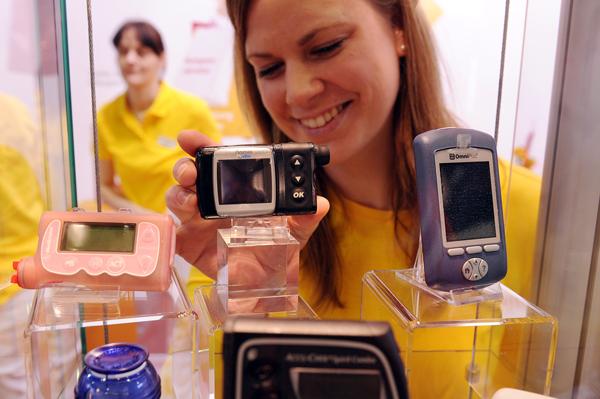 Was gibt es Neues auf dem Markt für Diabetiker? Einblicke liefert die Diabetes Messe in Münster. Foto: Peter Grewer