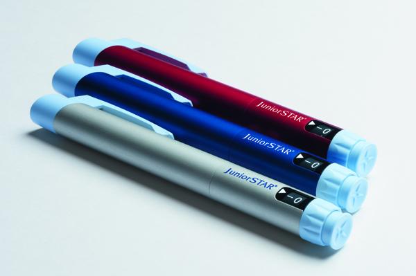 Ist ab sofort in Deutschland erhältlich: der wiederverwendbare Halbeinheiten-Insulinpen JuniorSTAR®. Foto: Sanofi
