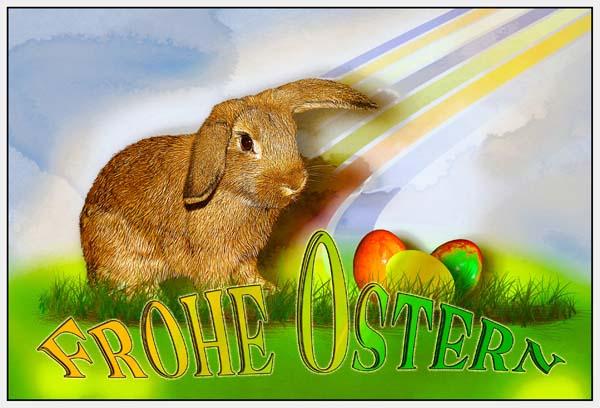 """""""Frohe Ostern"""" sowie geruhsame und genussvolle Stunden wünscht das Team von Diabetiker.Info allen """"Zuckersüßen"""". © La-Liana / pixelio.de"""