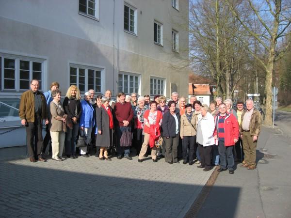 """Treffen sich an jedem ersten Montag im Monat: die """"Sweeties"""" aus Sinsheim."""