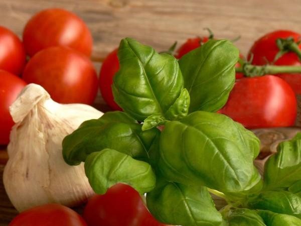 Der italienische Klassiker neu interpretiert: mit Pfirsich wird Caprese herrlich fruchtig.  ©www.sonjawinzer.de / PIXELIO