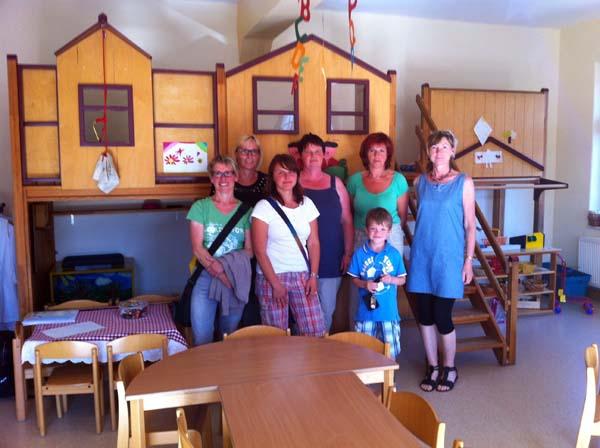 Das Team vom Kindergarten 'Lindenzwerge' in Dorndorf kümmert sich liebevoll um den kleinen Alex, bei dem vor etwa vier Monaten Diabetes mellitus Typ 1 diagnostiziert worden ist.