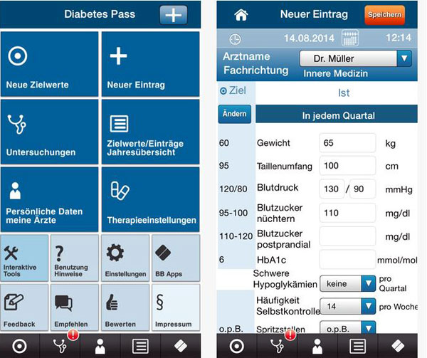 Gemeinsam mit dem Börm Bruckmeier Verlag hat die Deutsche Diabetes Gesellschaft (DDG) eine elektronische Version des Diabetes-Passes entwickelt.
