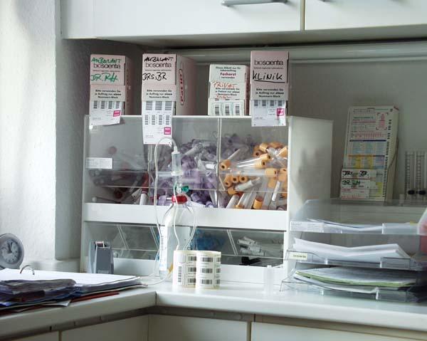Wichtiger Laborwert: Der HbA1c erlaubt einen Rückschluss auf die Qualität der Blutzuckereinstellung der letzten acht bis zwölf Wochen. © bbroianigo / pixelio.de