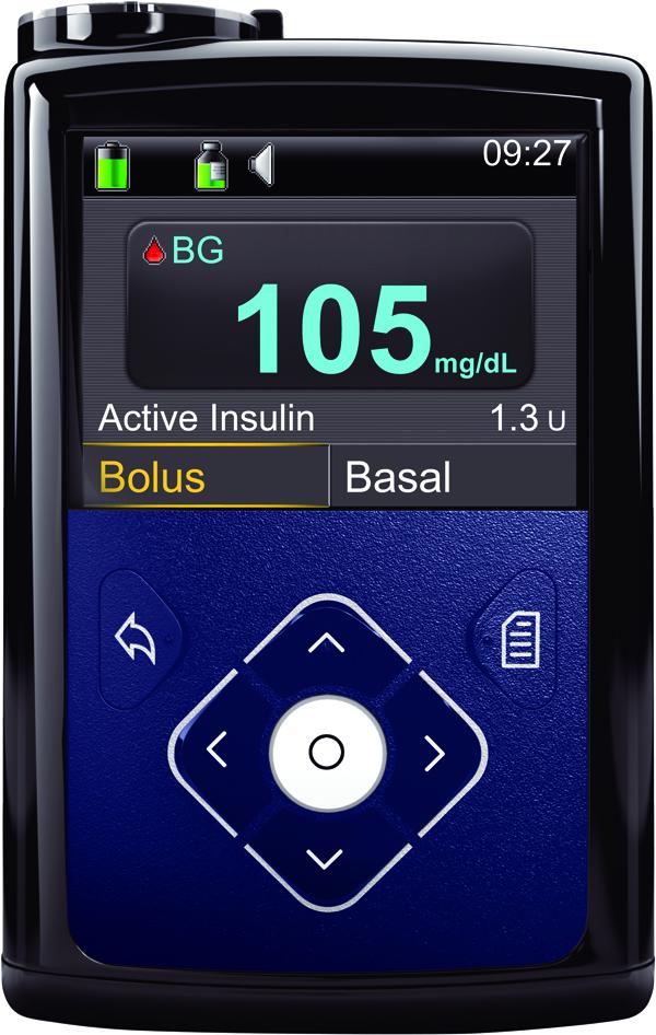 Seit März ist die MiniMed™ 640G Insulinpumpe erhältlich, die mit ihrer SmartGuard™ Technologie für erweiterten Hypoglykämieschutz besticht.