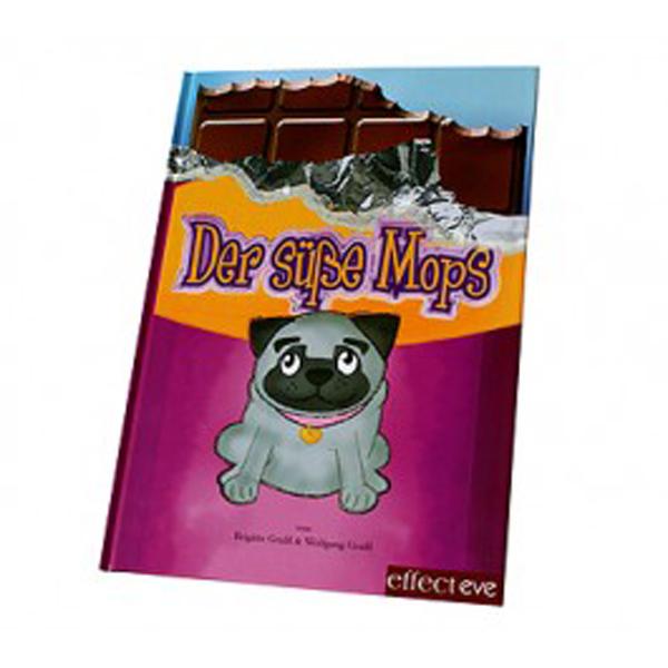 Brigitte und Wolfgang Graßl: Der süße Mops, Illustration von Suny Mayer, Effecteve Verlag, 2006, 36 Seiten; ISBN 978-3-938488-03-4. Erhältlich bei DiaShop (http://www.diashop.de/weiterer-diabetikerbedarf/diabetes-literatur/diabetes-bei-kindern-jugendlichen/der-suesse-mops-buch-fuer-kinder-mit-diabetes-1-buch.html)