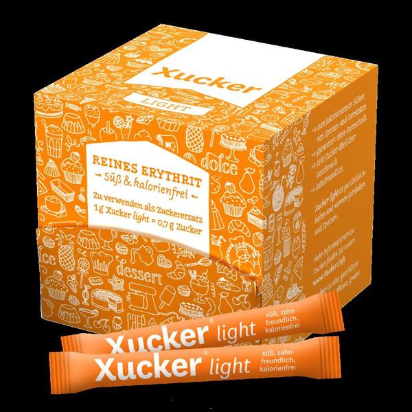 Süßen, ganz ohne Reue: das versprechen die Xucker-Produkte. Erhältlich bei DiaShop.