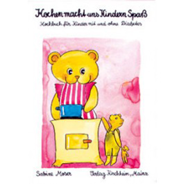 Sabine Moser: Kochen macht uns Kindern Spaß – Kochbuch für Kinder mit und ohne Diabetes, Kirchheim-Verlag, 3. Auflage 2001, 96 Seiten; ISBN 978-3-87409-327-9. Erhältlich bei DiaShop.
