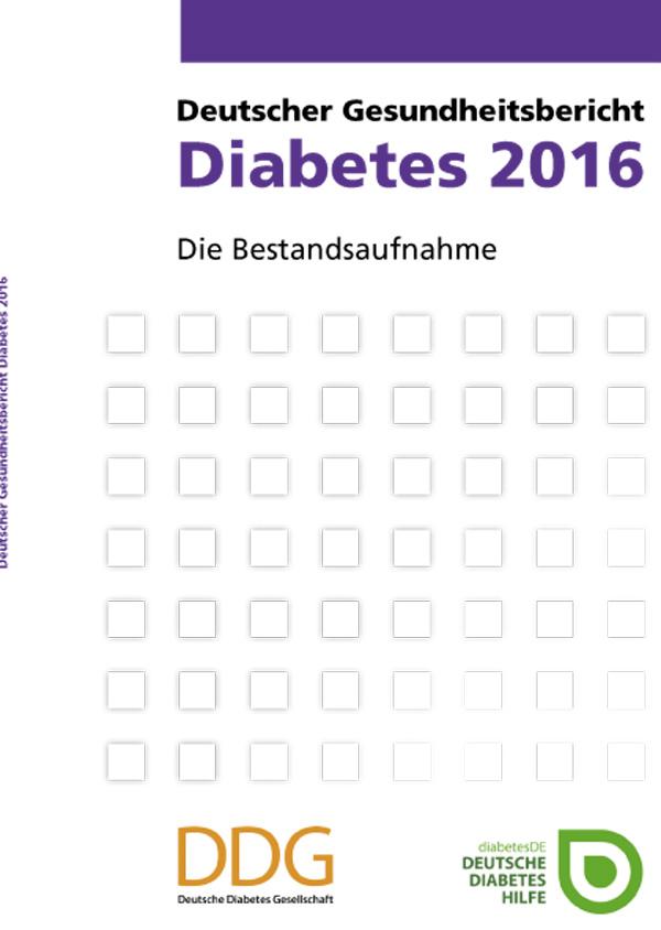 Gesundheitsbericht Diabetes 2016