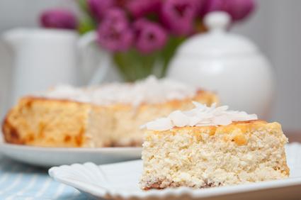 Quark-Grießkuchen