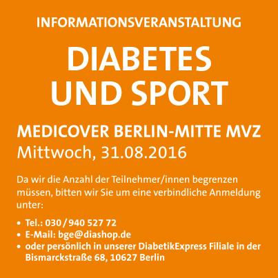 """""""Diabetes und Sport"""""""