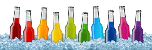 überzuckerte Erfrischungsgetränke