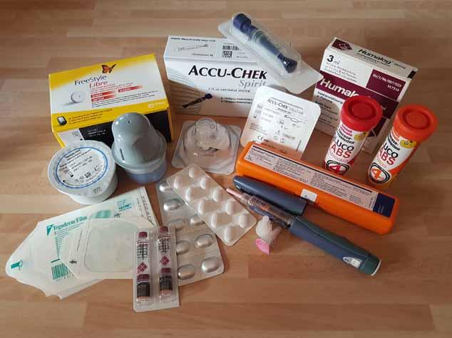 Diabetes-Hilfsmittel