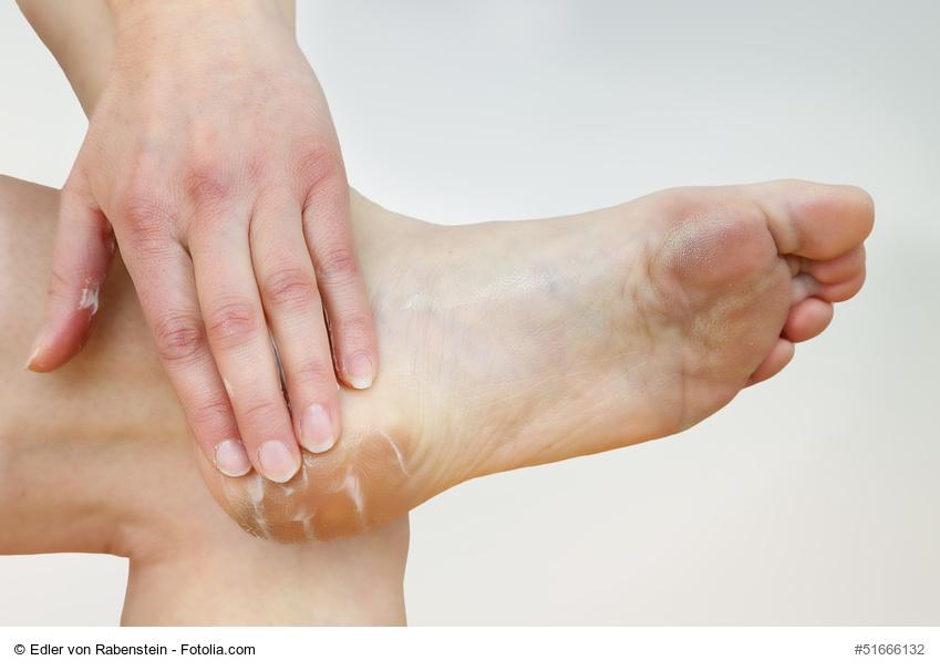gepflegte Füße bei Diabetes