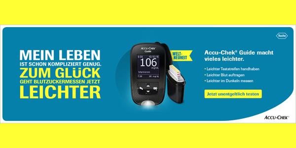 Produktvorstellung Accu Chek Guide Diabetikerinfo