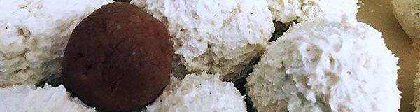 Low-Carb-Kokosbälle