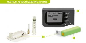 Medtrum-TouchCare-A6-Patch-Pumpe