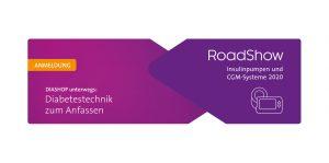 DIASHOP RoadShow zu Insulinpumpen und CGM-Systemen