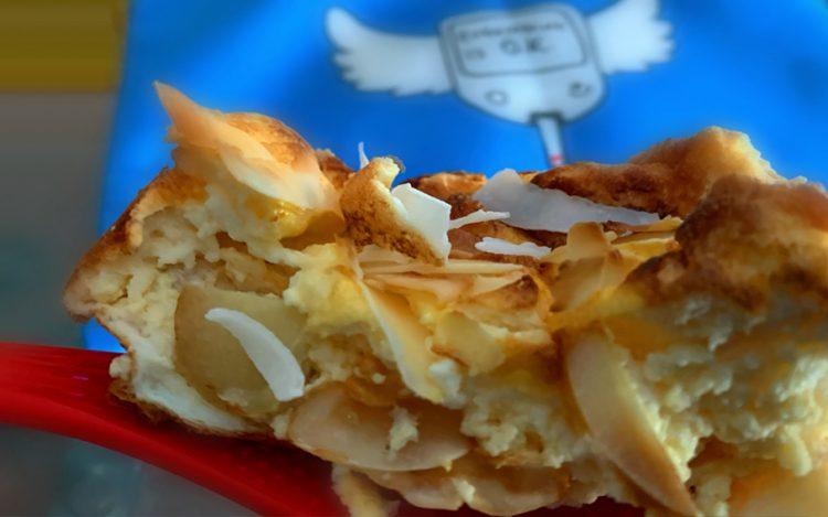 proteinreiche Apfel-Vanille-Fluffis