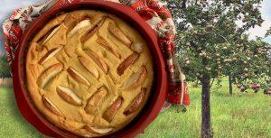 Augustapfel-Kuchen
