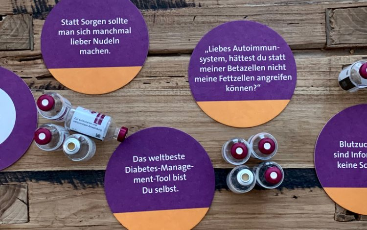 DIASHOP Bierdeckel Diabetes-Sprüche