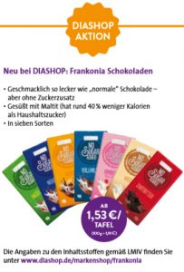 DIASHOP Aktion Frankonia
