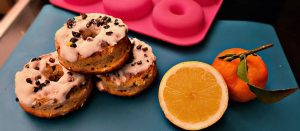Low Carb Donuts mit Zitronenguss