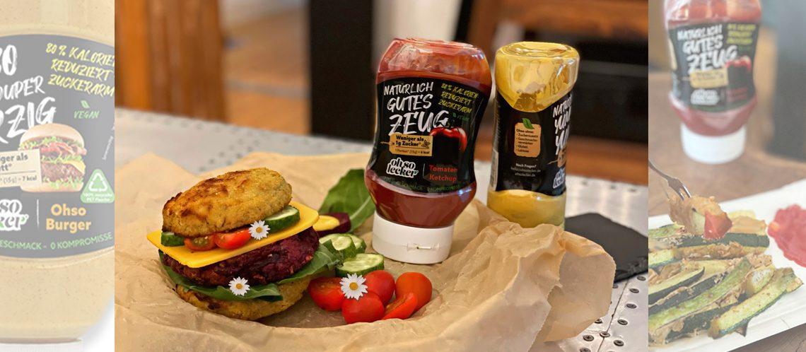 vegetarischer Burger ohso lecker